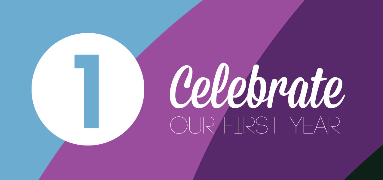 celebrate our first year promo