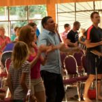 People of Trinity Central Church Vancouver worshiping God.