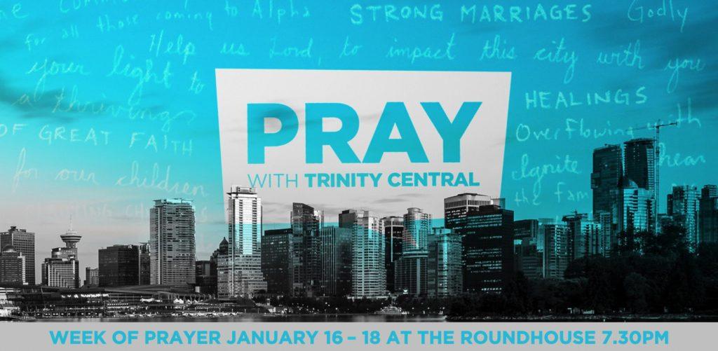 Week of Prayer January 16-18 2018